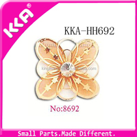 Popular Butterfly Decoration Shoe Accessories For