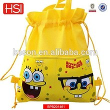 new product promotional hot sell fashion hemp school bag nepal