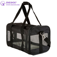 Soft Sided Pet Carrier Bag Mesh Panel Pet Carrier Bag For Dogs And Cats