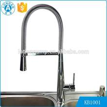 Single Handle upc 61-9 nsf kitchen faucet with Pull down Sprayer