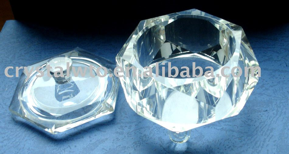Crystal Dishware with unique shape