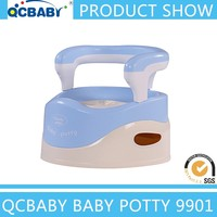 Baby practical potty chair with disassemble backrest / portable toilet seat