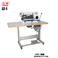 LZ-1 Leather Cutting Machine With Low price leather strap strip belt making machine granite shoes making leather splitter