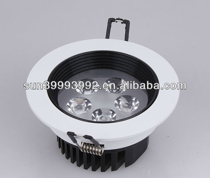 5w led downlight/modern led crystal ceiling lamp