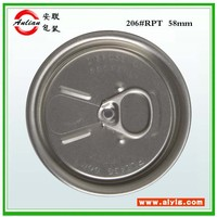 Super Tiger Energy Drink 206# 330ml beverage silver ring Free sample high quality easy open end factory