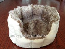 Coobypet cuddle plush cold-resistant cat bed