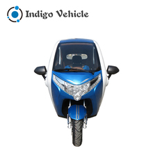 2017 New Product Battery Power Electric Cabin Cargo Tricycle