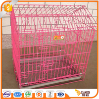 Top Quality folding stainless steel dog cage