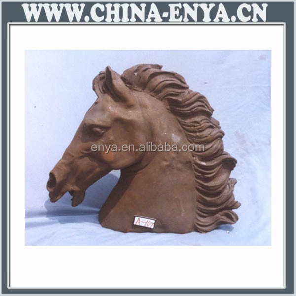 High Quality Factory Price antique brass horse statue