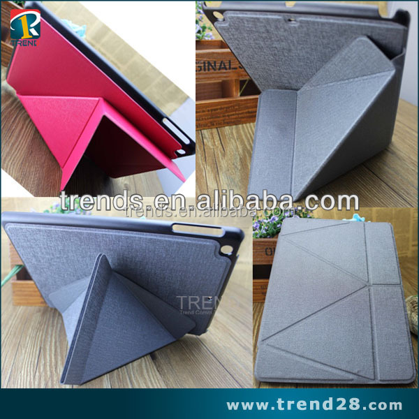 alibaba express stand folding leather case for ipad 5