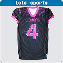 design your own custom sublimation american football jersey