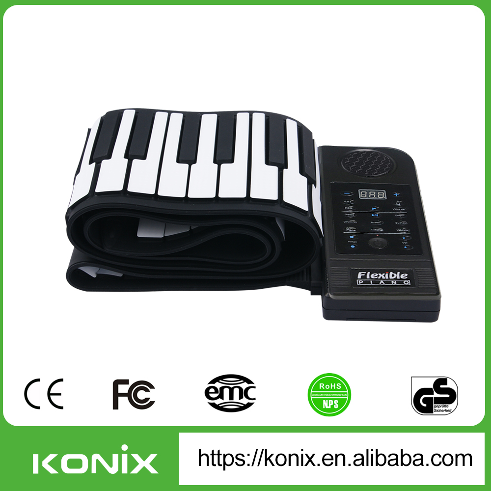 gift piano steinway piano grand roland digital piano Christmas gift 88 Keys Roll Up Piano