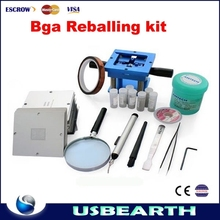 The Latest 170pcs 90x90mm BGA Stencil Full Kit For Laptop + Desktop + RAM + XBOX/PS3, universal bga reballing station kit