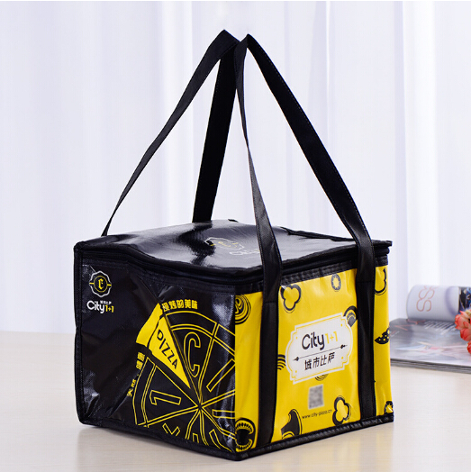 promotional insulated lunch bag 6 Can Pack Beer thermal Cooler Bag Fabric polyester cooler bag