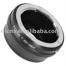 FOTGA Adapter Ring For Contax /Yashica Lens to Sony NEX-3 NEX-5 E Mount Adapter Ring brass wholesale oem