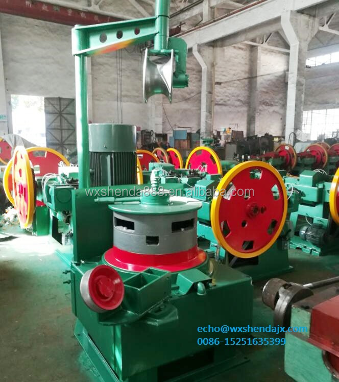 White Steel Cold Wire Drawing Machine for Nails in China