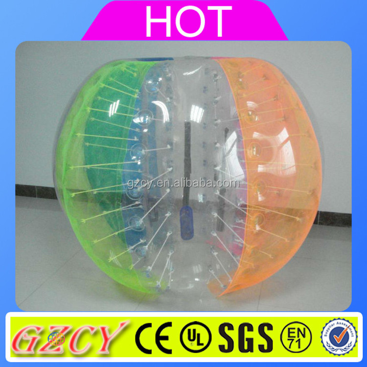 Large inflatable human bubble ball toys for kids