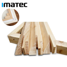 Wholesale OEM Pine Wood Heavy Duty Art Canvas Stretcher Bar Natural Timber