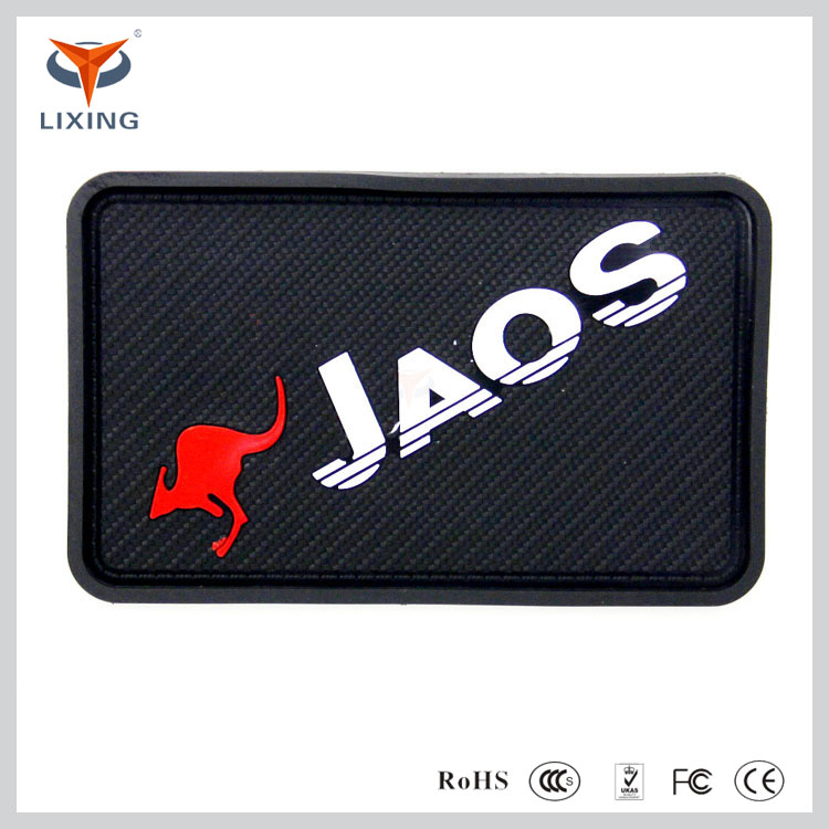 high quality anti-slip colorful silicone phone stick mat Automobile anti--slip sticky anti-skid pad
