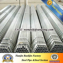 galvanized steel pipe for natural gas/water delivery by professional supplier