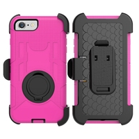 Hard PC+Soft Silicone Hybrid Case Shockproof Phone Cover with Stand Holster Belt Clip for Samsung Note7/Note 5/ Note 4/Note 3
