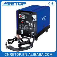 MIG175 co2 inverter welder Professional movable mig/mag weld welding machine wire feed welders