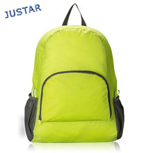 OEM China Ripstop Nylon Packable Style Folding Back Pack, Foldable Backpack Bagpack, Fashion Rucksack Backpack