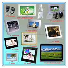 HD display 1.5'',7'',8'',10'',12'',13'',14'',15'',17'',19'',32'' inch digital photo frame, LCD / LED digital picture frame