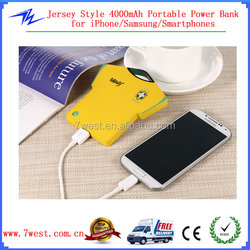 Made in China Smartphone 4000mah Power Bank Portable Mobile Power Bank
