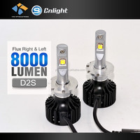 2016 newest!!! 35w Emark 4000 lumen 12 volt D4S LED Car Headlights replace bi xenon kit hid xenon kit wholesale auto bulbs