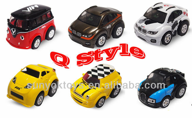 Q Style! 5ch Mini rc stunt car