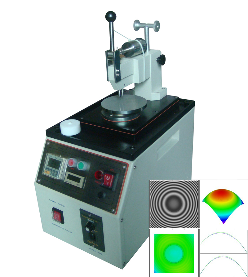 Center Pressure Patch Cord Production Fiber Optic Polishing Machine