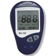 Digital LCD Blood Glucose Monitoring System Meter Diabetes Measuring Instruments