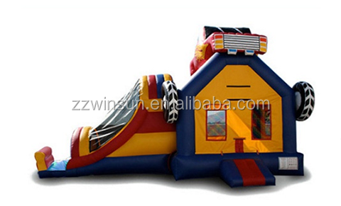 Inflatable Monster Truck Bouncer Bounce House
