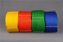 Promotional classical double twisted tug polyester ropes