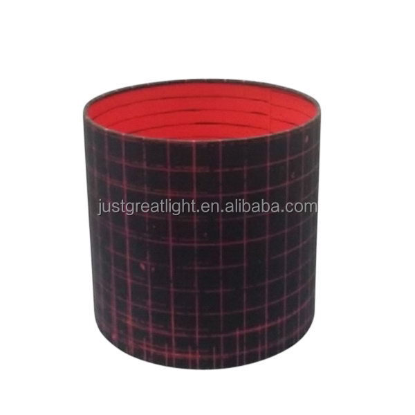 Quality promotional Column fob price lamp shade fabric sheet
