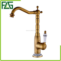 FLG Wenzhou gold supplier hot and cold basin faucet