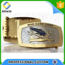 Direct Factory Made Ressessed Logo Engraved Wholesale Belt Buckle