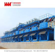 China supplier professional Slurry Separation System river sand recycling and dewatering machine