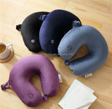 J311 OEM cheap price U shape travel protect the neck memory foam pillow wholesale