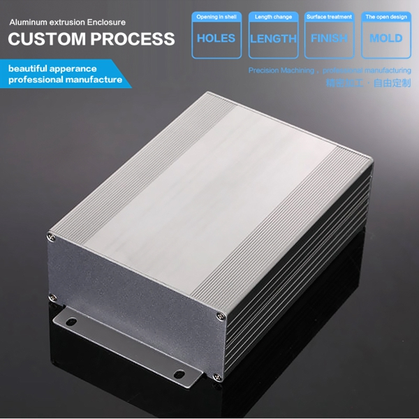 YGS-011 107x47x100 mm aluminium enclosure box case,aluminium PCB enclosure housing