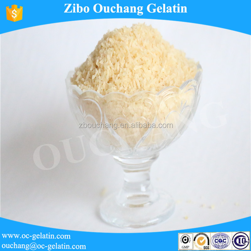Edible skin gelatin as food gelatin agent