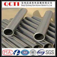 Hot sell polished surface exhaust gr9 titanium pipe price per kg