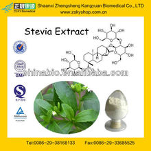 Stevia Extract Rebaudioside A Stevioside from GMP Manufacturer