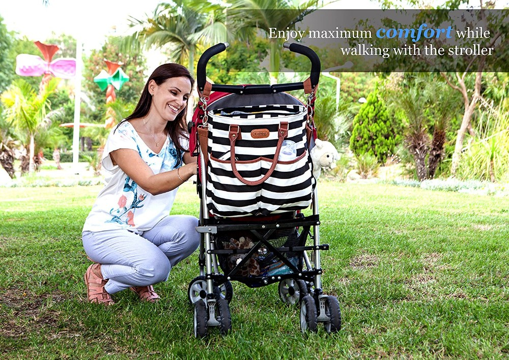 sunflower printing diaper bags Waterproof baby Diaper Bags For children