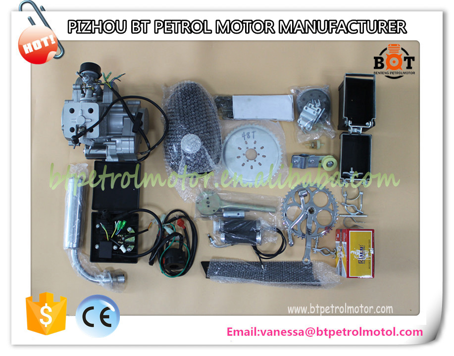 Contemporary special 2 stroke gas engine kit for bicycle 80cc