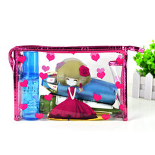 Ziplock clear PVC cosmetic bag