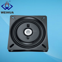 160X160mm chair hardware memory return swivel plate