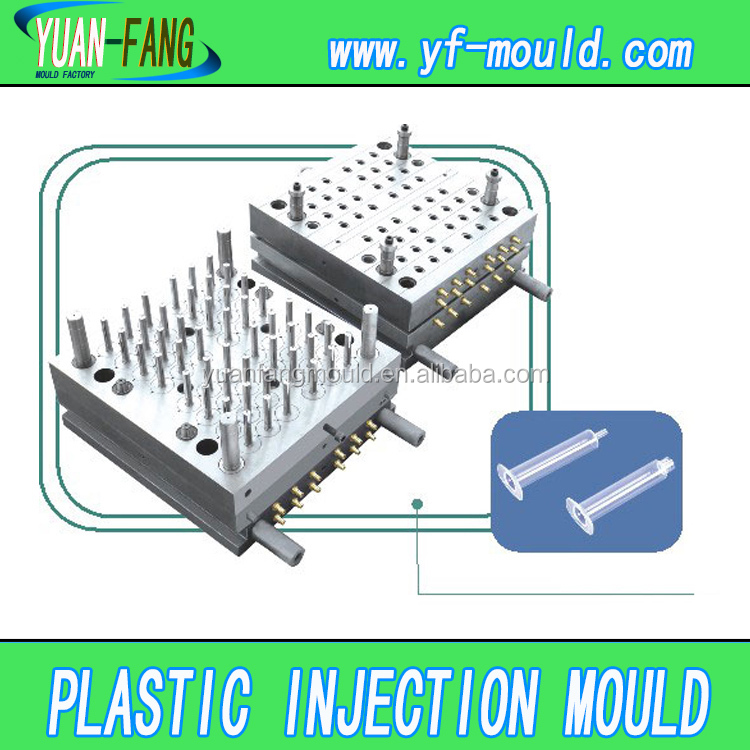 Syringes Medical Devices Molded Injection Parts mould