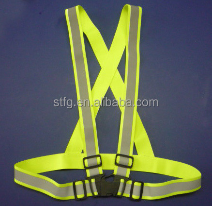 Reflective Safety Vest Belt For Sports, Construction Workers, Dog Walkers, Runners, Joggers,Mail Carriers, Motorcycle Riders,